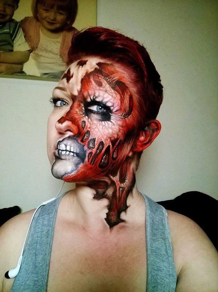 Nikki Shelley Creates Incredible Monster Faces Perfect For