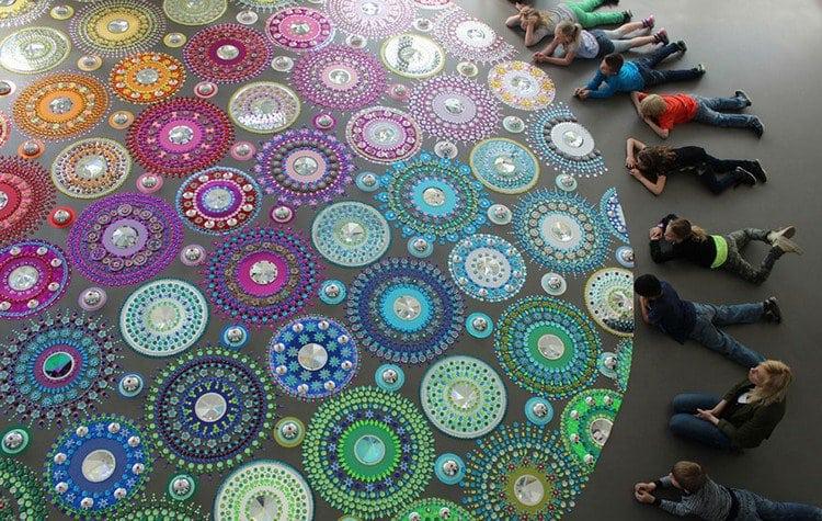 Suzan Drummen Creates Beautiful Jeweled Mandala Art