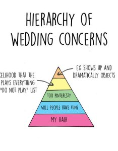 Wedding planning charts concerns also funny that highlight the expectation vs reality of rh awesomeinventions