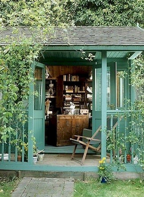 12 Awesomely Chic SheSheds Youll Want To Own