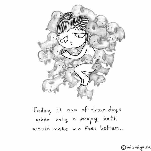 Ani Castillo Creates Cute Illustrations About Being