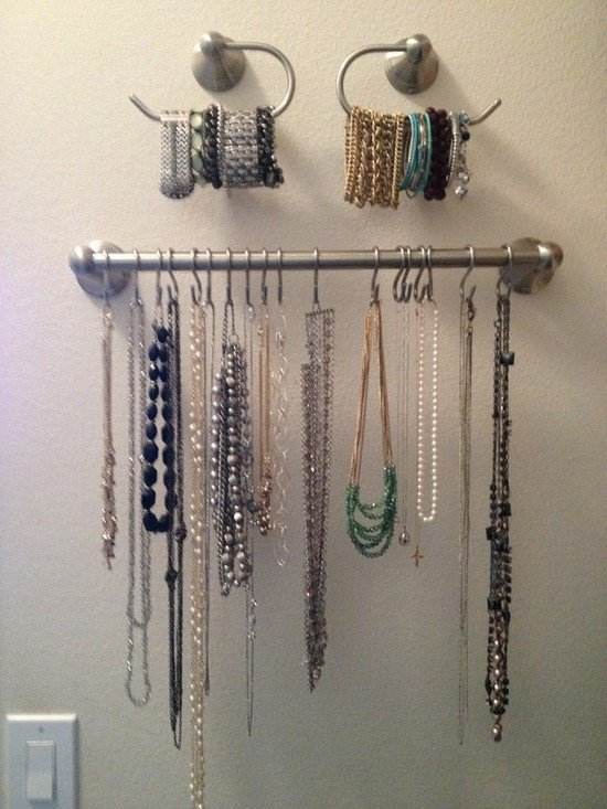 15 Awesome And Easy Ways To Organize Your Jewelry