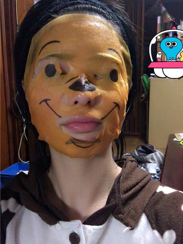 7 Photos Of The Winnie The Pooh Face Mask Which Is