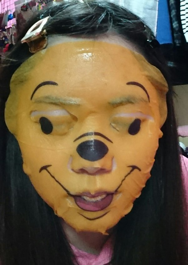 7 Photos Of The WinnieThePooh Face Mask Which Is