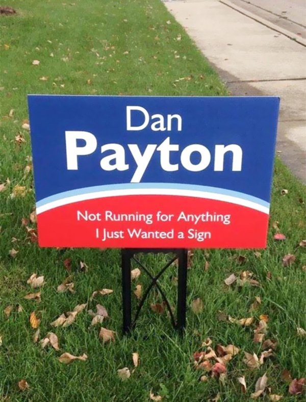 12 hilarious voting signs