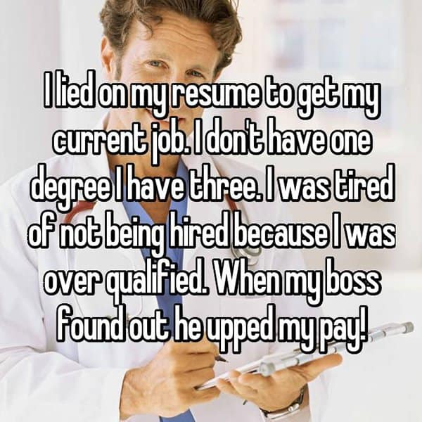 What Happened To People Who Got Caught Lying On Their Resumes