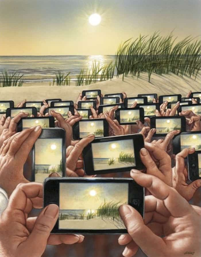 enjoying-nature-today-satirical-illustrations