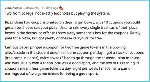 life loopholes comment verminiusrex