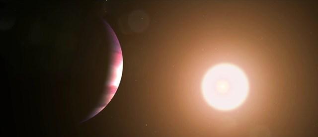 planet toi 1338b solar eclipse