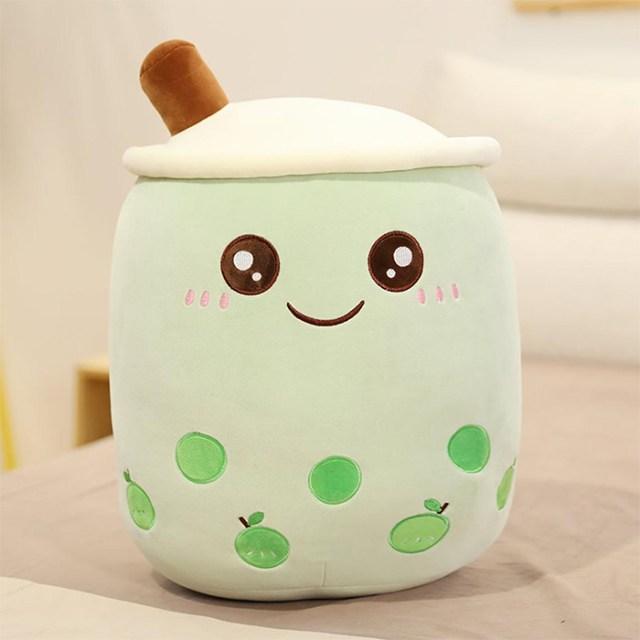 bubble tea plush green