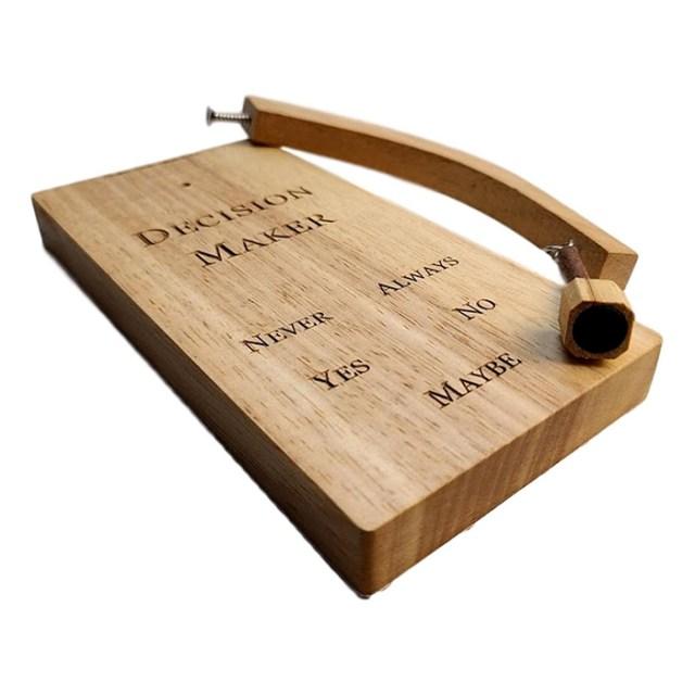 swinging magnetic pendulum hardwood