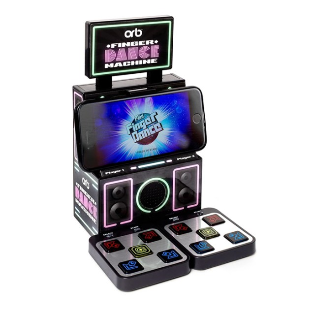 finger dance machine mini ddr