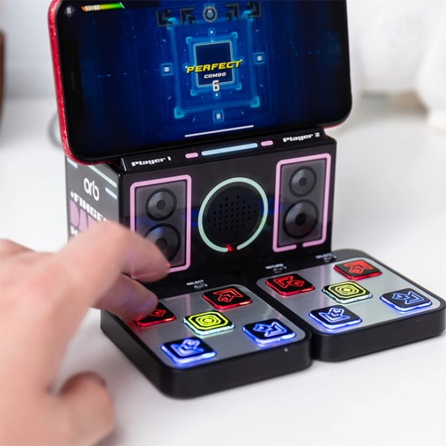 mini dance dance revolution machine