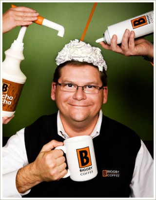 Biggby Bob Fish and Biggby Coffee