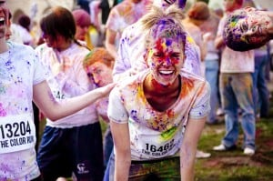 The Awesome Mitten-The Color Run
