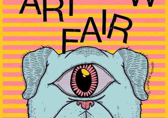 Awesome Mitten-Shadow Art Fair