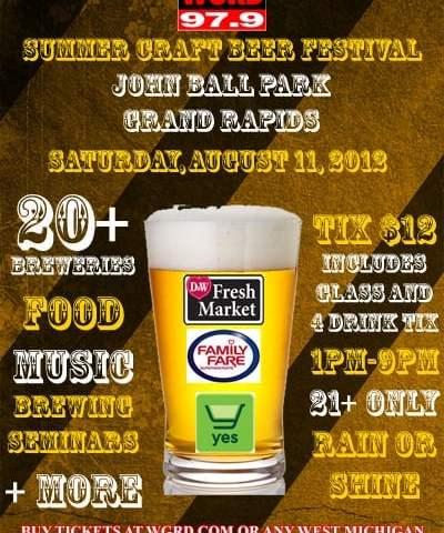 2012 WGRD Summer Craft Beer Festival
