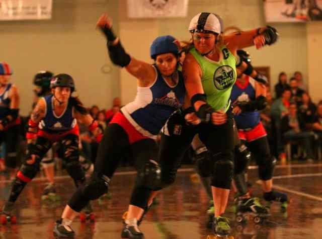The Awesome Mitten- Michigan Roller Derby