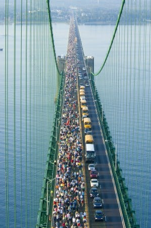 The Awesome Mitten - Mackinac Bridge Walk