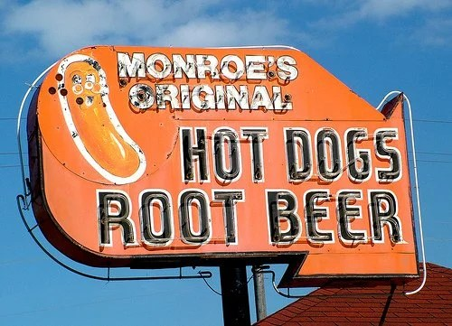 Monroe's Original Hot Dog Drive-In