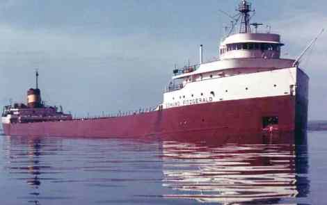 November 10th 1975: The Wreck Of The Edmund Fitzgerald