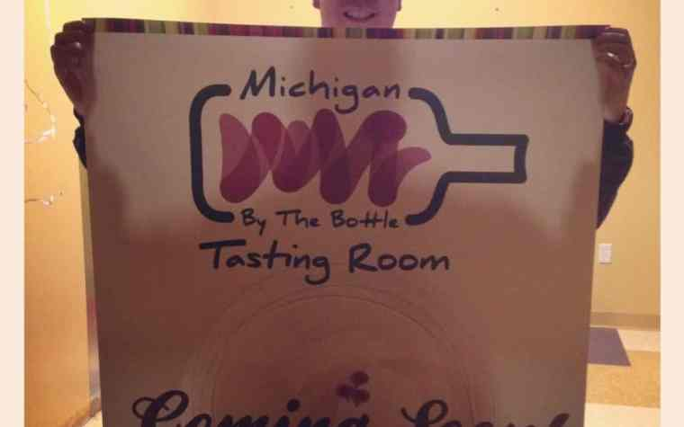 The Awesome Mitten - Michigan by the Bottle's New Tasting Room
