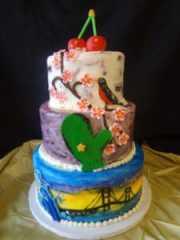 Second Floor Bakery - Michigan Birthday Bake Off
