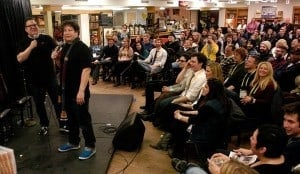 Photo Courtesy of the Traverse City Winter Comedy Arts Festival