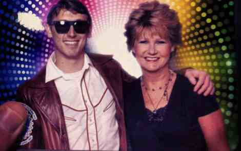 Contributing Writer Chaz Parks and his mom