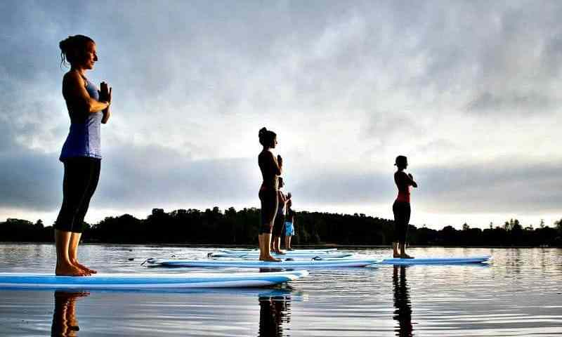 What's Up With SUP? One Uncoordinated Girl's Experience With Stand-Up Paddleboard Yoga
