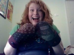 I received my first Baabaazuzu mittens in 2010.