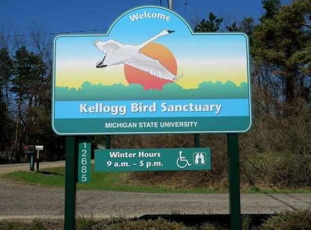 The Awesome Mitten - Kellogg Bird Sanctuary