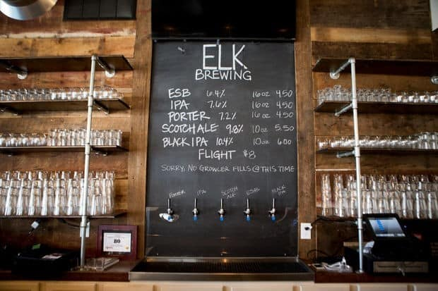 Photo courtesy of facebook.com/elkbrewing