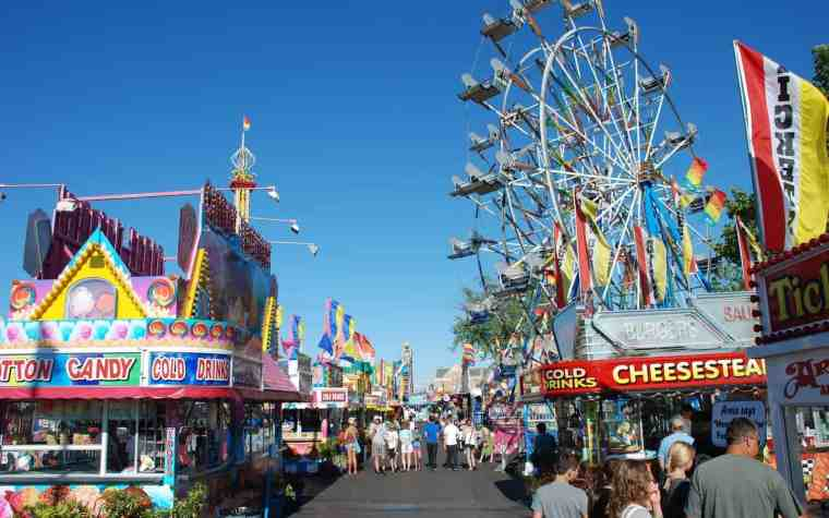 Surviving the National Cherry Festival - The Awesome Mitten