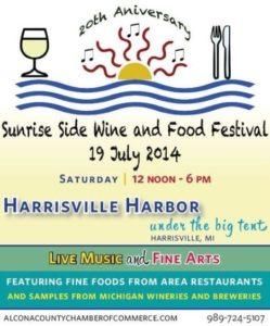 Michigan Sunrise Side Wine & Food Festival