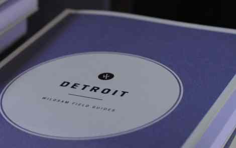 Discovering Detroit with Wildsam Field Guides