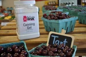 Tart Cherries & Canning Gel, The Canning Diva®