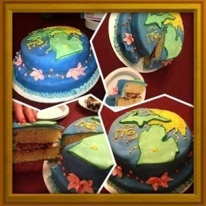 Michigan Birthday Bake-off - Anne Meier - The Awesome Mitten