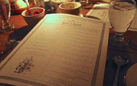Southerner Meets Michigan: Holiday Nights Dinner At Eagle Tavern