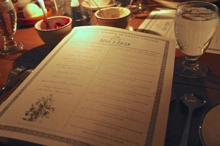 Southerner Meets Michigan: Holiday Nights Dinner At Eagle Tavern