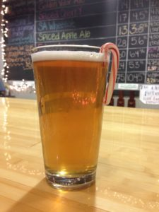 Bravo Zulu's Spiced Apple Ale. Photo Courtesy of Jennifer Hamilton