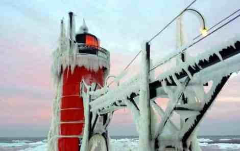Continuing a Winter Lighthouse Road Trip Along Lake Michigan