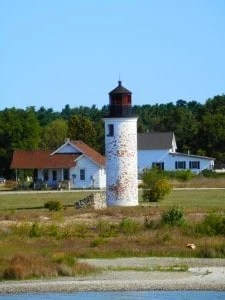 Beaver Island Harbor Lighthouse - the awesome mitten