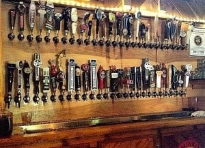 Look at all those taps! Photo Courtesy of Joseph Symons.