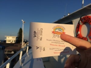 Sheplers Ferry - Mackinac Island - #MittenTrip - The Awesome Mitten