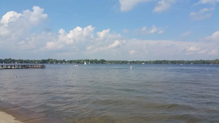 Lake Lansing can provide all the enjoyment of a day at the beach without a two-hour trip to the coast. Photo by Joel Heckaman - Awesome Mitten