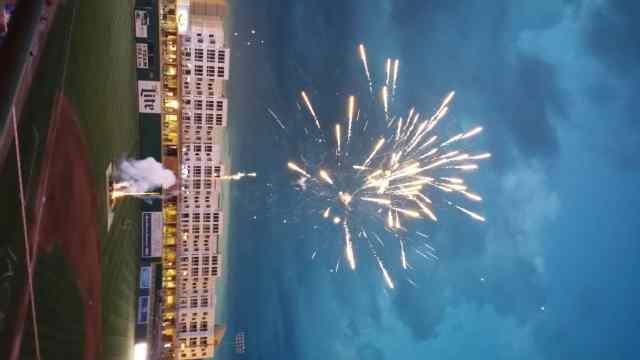 Lansing Lugnuts fireworks - #MittenTrip Lansing - The Awesome Mitten