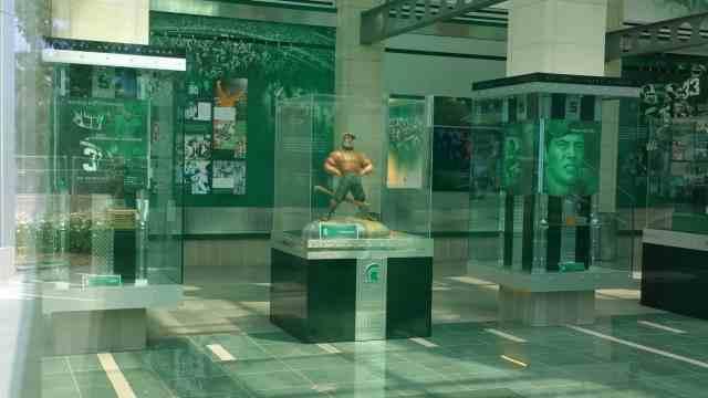 Paul Bunyan Trophy - #MittenTrip Lansing - The Awesome Mitten.