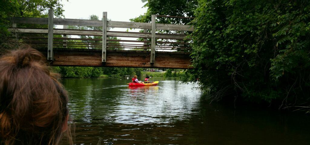Kayaking The Huron River In Ann Arbor