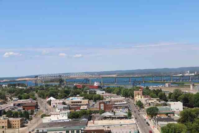 View from the Tower of History - #MittenTrip - Sault Ste Marie - The Awesome Mitten